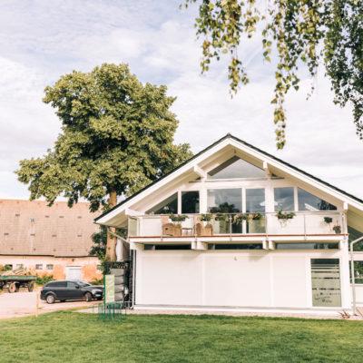 concentus modernes fachwerkhaus Moderne Architektur in Holzskelettbauweise