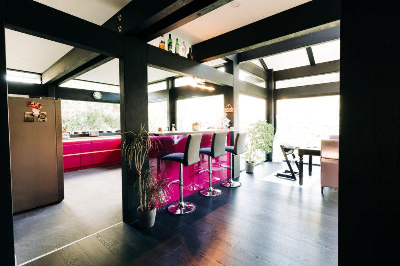 Modernes Fachwerk Haus Landhaus Holz Konstruktion Holzstaenderhaus Holzskelett Fachwerkhaus Concentus 12