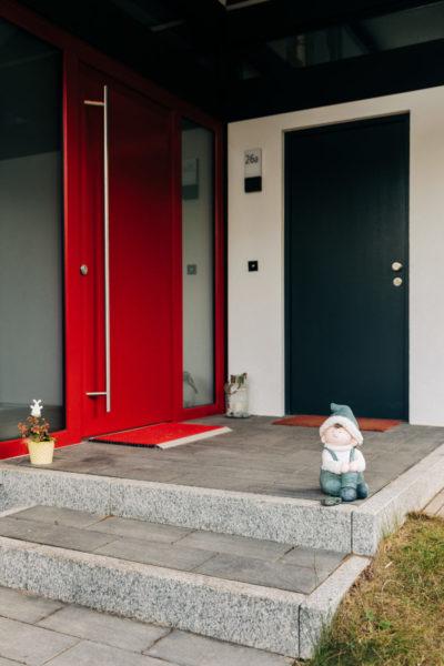 Modernes Fachwerk Haus Landhaus Holz Konstruktion Holzstaenderhaus Holzskelett Fachwerkhaus Concentus 17