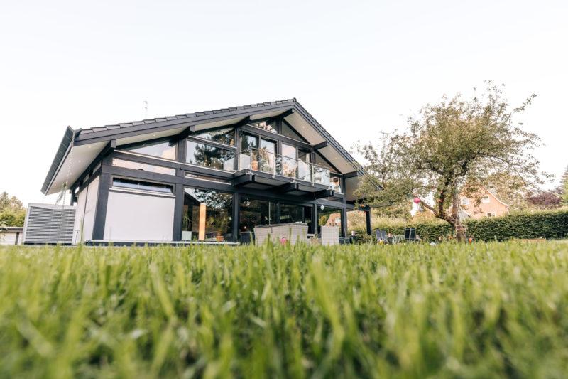 Modernes Fachwerk Haus Landhaus Holz Konstruktion Holzstaenderhaus Holzskelett Fachwerkhaus Concentus 2