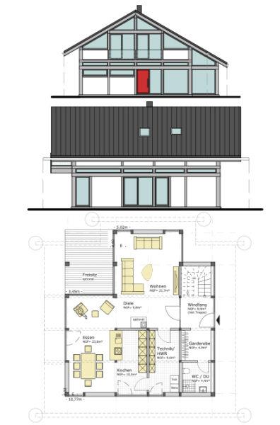 Musterhaus Ch170