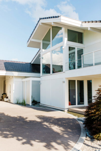 Architektenhaus Fachwerkbau Fachwerkhaus Holz Skelett