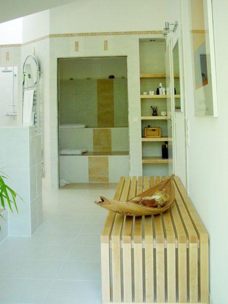 Architektenhaus Fachwerkhaus Holz Skelett Konstruktion 6