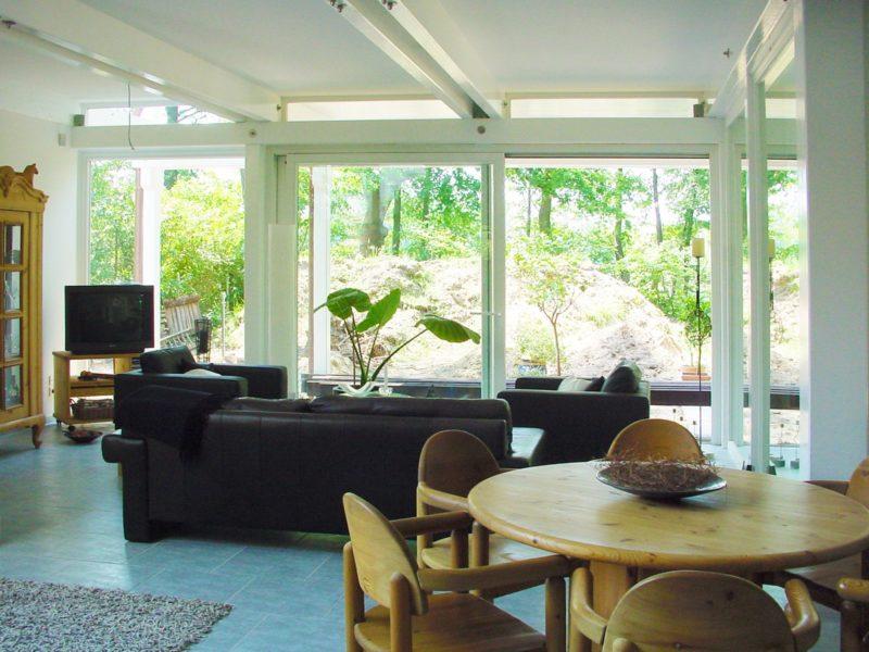 Architektenhaus Fachwerkhaus Holz Skelett Konstruktion 8