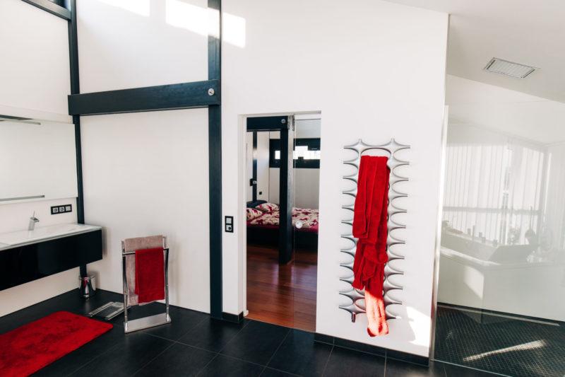 Badezimmer Fachwerkhaus Modern Landhaus Design Bad Einrichtung Concentus