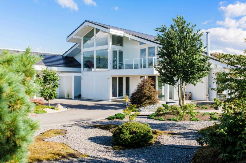 Berlin Fachwerkhaus Baufirma Holz Skelett Haus Holzhaus
