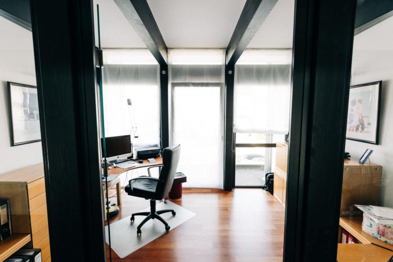 Buero Modernes Fachwerkhaus Bauen Concentus Design Interior Fachwerk Landhaus
