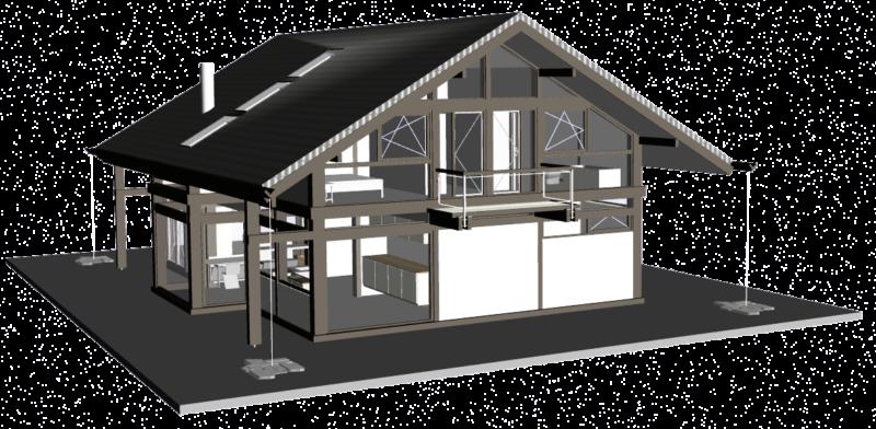 Concentus 3d Planung Holz Skelettbau Fachwerk