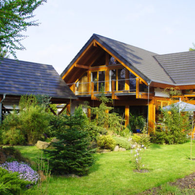 concentus modernes fachwerkhaus Ein Holzskeletthaus im nordischen Stil mit Charakter