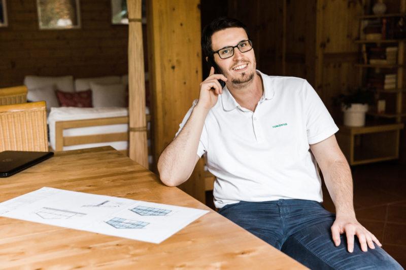 Concentus Beratung Fachwerkhaus Holzskeletthaus