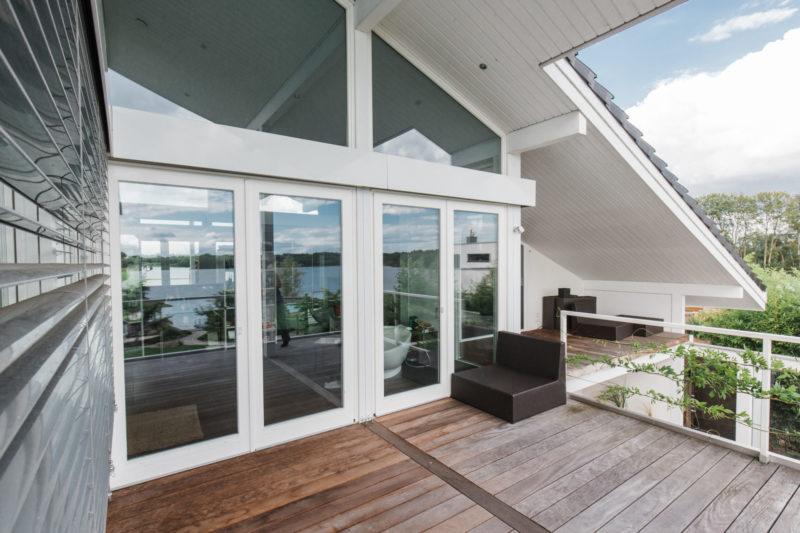 Concentus Fachwerkhaus Glas Verglasung Holz Fachwerk Modern Landhaus