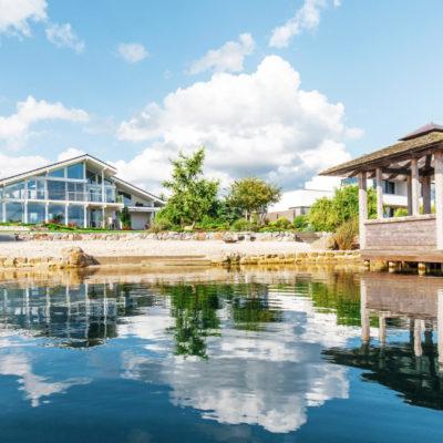 concentus modernes fachwerkhaus Modernes Fachwerkhaus am See – Großzügige Architektur im Holzskelettbau