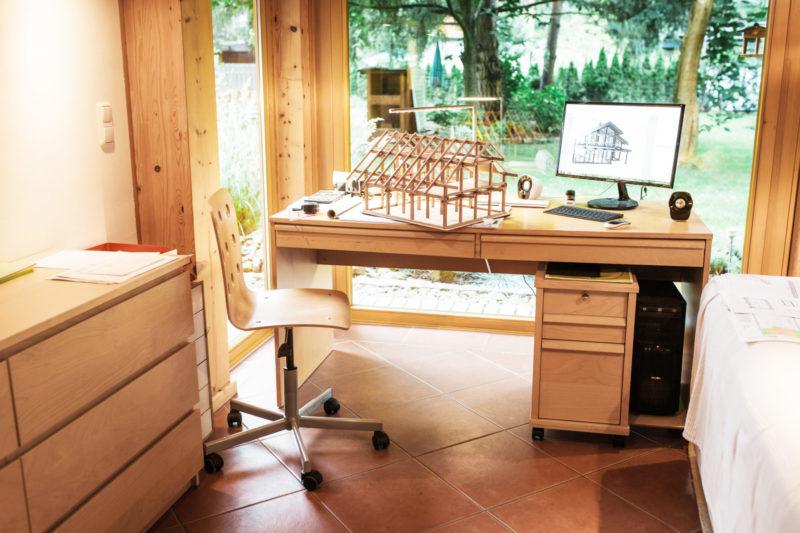 Concentus Fachwerkhaus Holz Skelett Bauweise