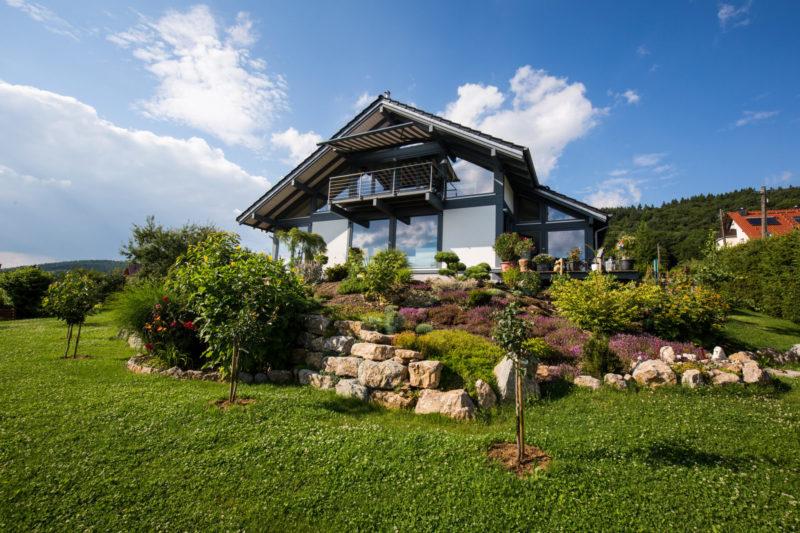 Concentus Fachwerkhaus Modern Holzskelett Haus Suhl