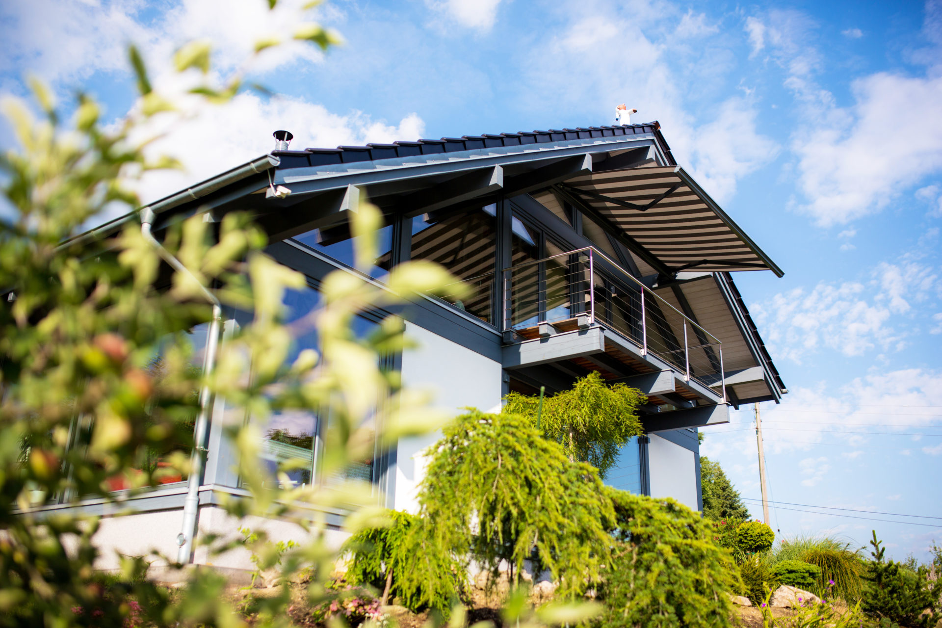 Concentus Fachwerkhaus Modern Holzskelett
