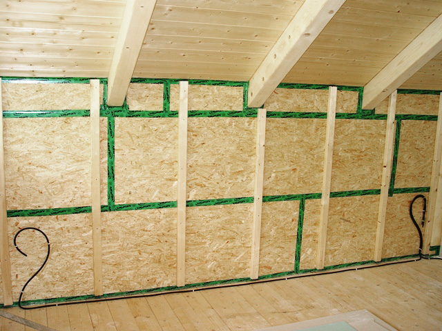 Concentus Holz Skelett Rahhmen Bau Fachwerk Innenwaende
