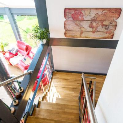 Concentus Holz Treppe Haus Fachwerk