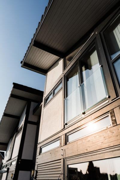 Concentus Landhaus Fachwerkhaus Schwarz Weiss Nrw