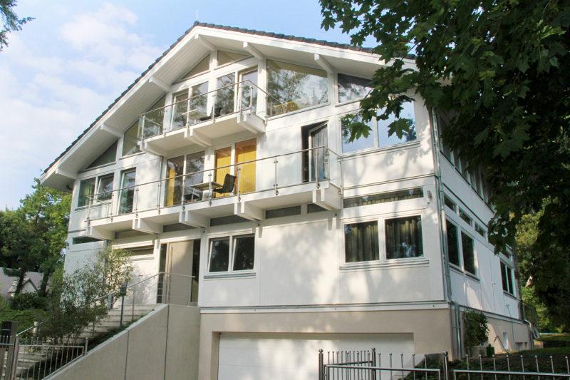 Concentus Linea Visio Modernes Fachwerkhaus