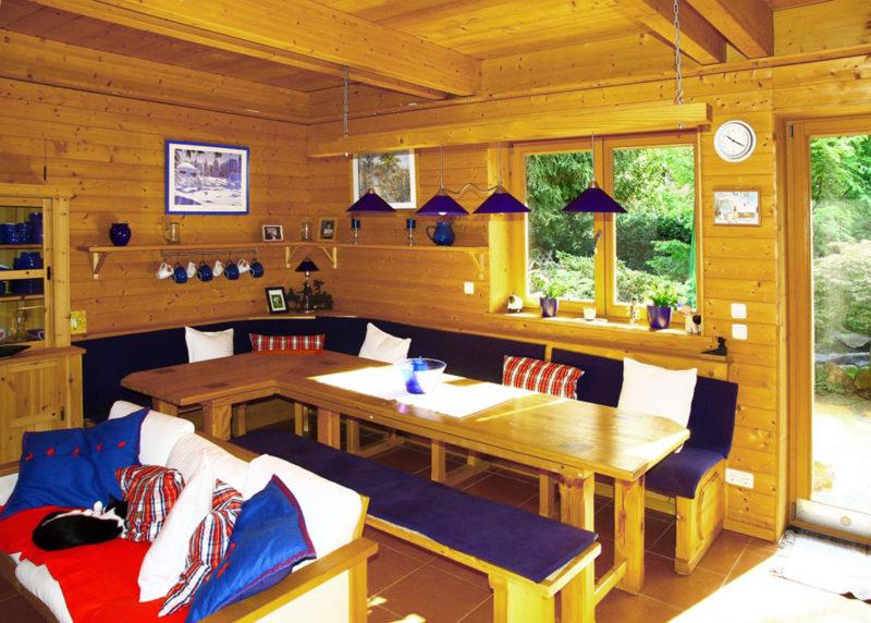 Concentus Modernes Fachwerk Holzskelett Haus Braun