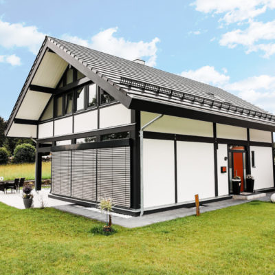 concentus modernes fachwerkhaus Modernes Fachwerk im traditionellen Holzskelettbau