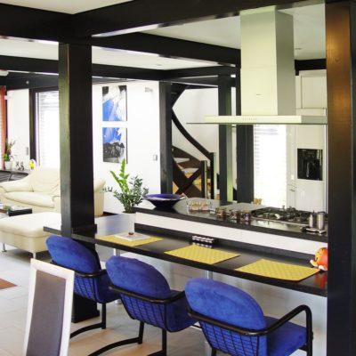 Fachwerkhaus Dunkle Konstruktion Holz Skelett Haus Landhaus 15