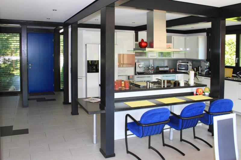 Fachwerkhaus Dunkle Konstruktion Holz Skelett Haus Landhaus 16