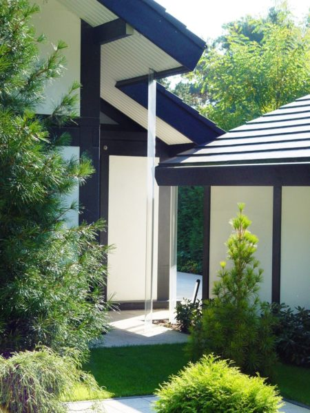 Fachwerkhaus Dunkle Konstruktion Holz Skelett Haus Landhaus 7