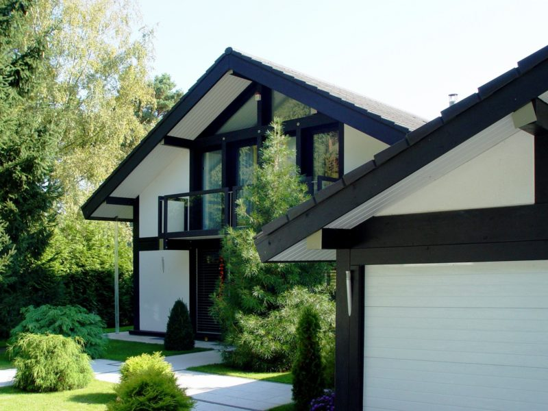Fachwerkhaus Dunkle Konstruktion Holz Skelett Haus Landhaus 8