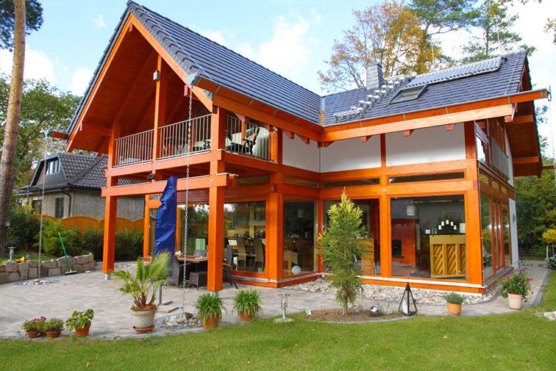 Modernes Landhaus Bauen Im Holzskelettbau Fachwerk