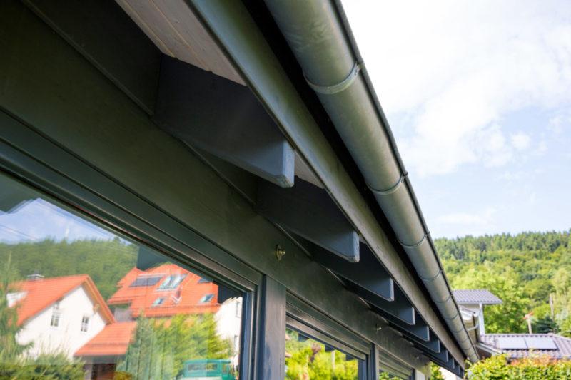 Holz Skelett Bauweise Concentus Fachwerkhaus