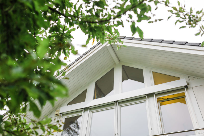 Holz Skelett Hau Hausbau Concentus