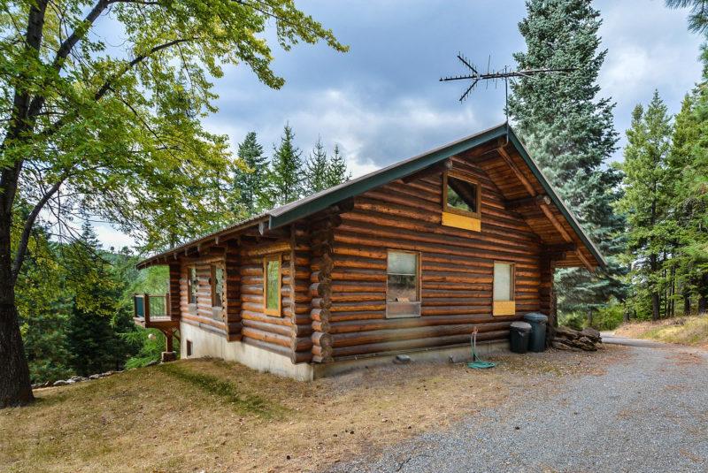 Holzblockhaus