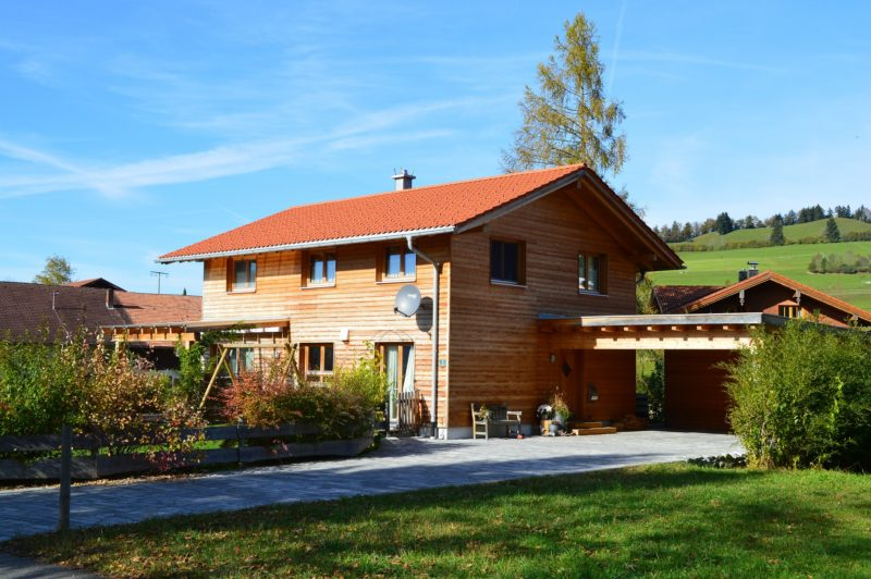 Holzhaus Holzbau