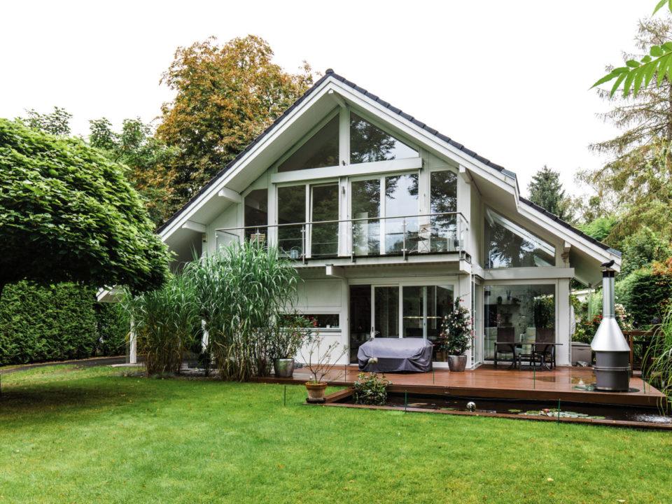 Holzhaus Holzskelett Haus Fachwerk Modernes Landhaus