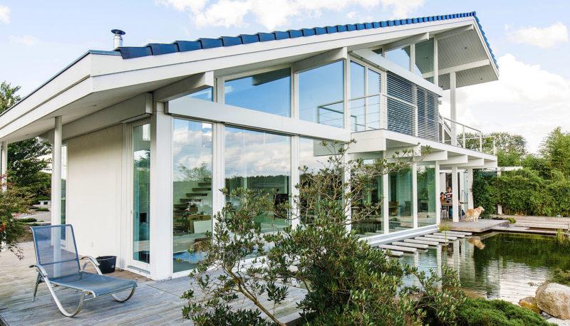 Individuelle Fachwerkhaus Landhaus Hausbau Holzhaus Architektur