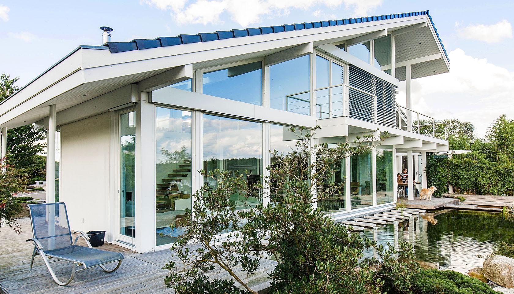 Holzhaus Architektur individuelle fachwerkhaus landhaus hausbau holzhaus architektur
