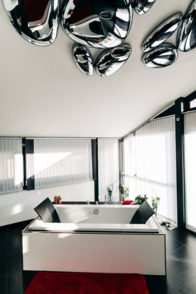 Interior Design Fachwerkhaus Fachwerk Badezimmer Modern