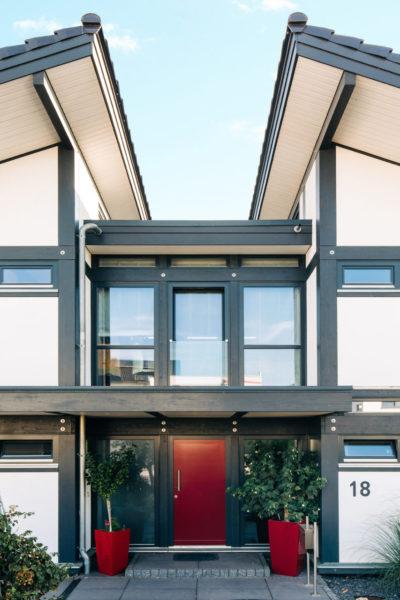 Modernes Fachwerk Concentus Fachwerkhausbau Haus Bauen Fachwerkhaus Landhaus