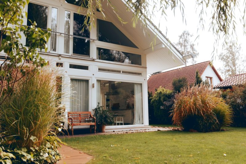 Modernes Fachwerk Haus Holz Glas Hell Holzstaenderhaus Holzskeletthaus Modern 10
