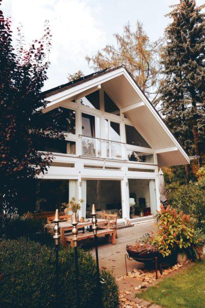 Modernes Fachwerk Haus Holz Glas Hell Holzstaenderhaus Holzskeletthaus Modern 16