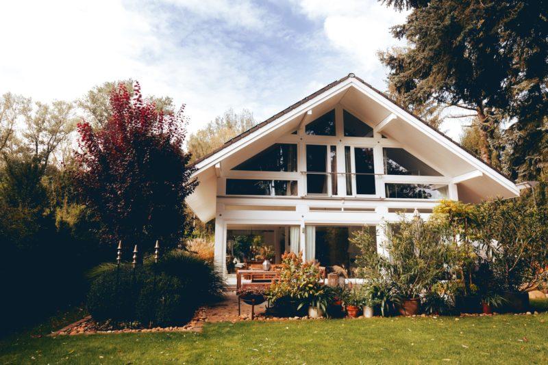 Modernes Fachwerk Haus Holz Glas Hell Holzstaenderhaus Holzskeletthaus Modern 19