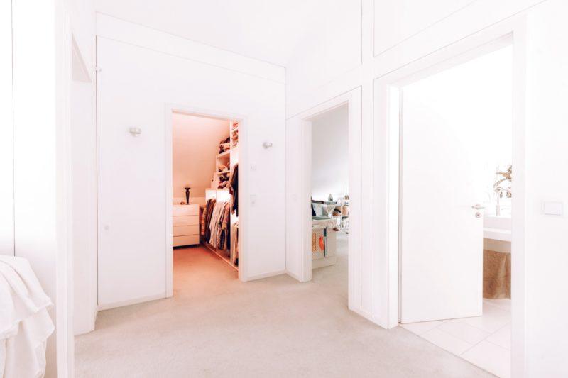 Modernes Fachwerk Haus Holz Glas Hell Holzstaenderhaus Holzskeletthaus Modern 29