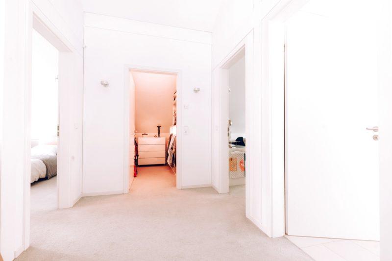 Modernes Fachwerk Haus Holz Glas Hell Holzstaenderhaus Holzskeletthaus Modern 30
