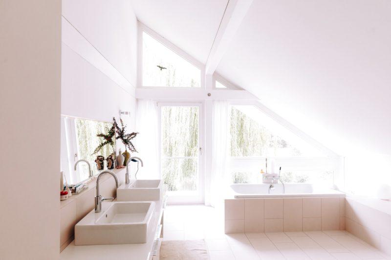 Modernes Fachwerk Haus Holz Glas Hell Holzstaenderhaus Holzskeletthaus Modern 37
