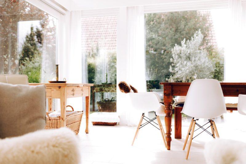 Modernes Fachwerk Haus Holz Glas Hell Holzstaenderhaus Holzskeletthaus Modern 49