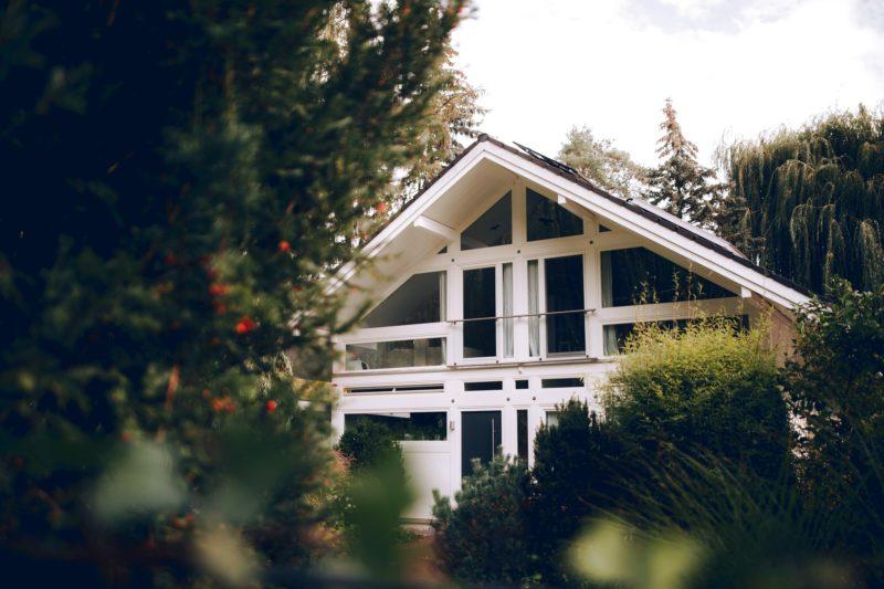 Modernes Fachwerk Haus Holz Glas Hell Holzstaenderhaus Holzskeletthaus Modern 5