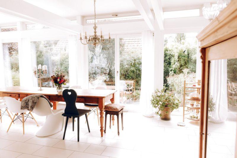 Modernes Fachwerk Haus Holz Glas Hell Holzstaenderhaus Holzskeletthaus Modern 52