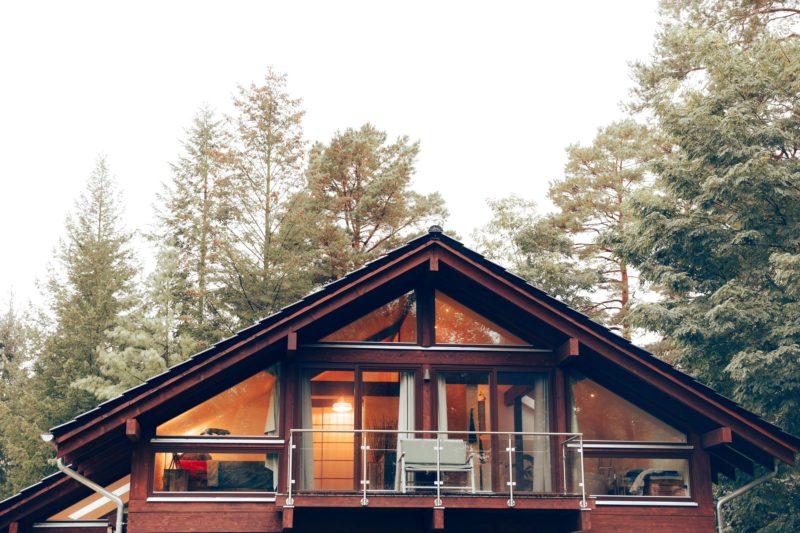 Modernes Fachwerk Haus Landhaus Braune Konstruktion Holzstaenderhaus Holzskelett 20