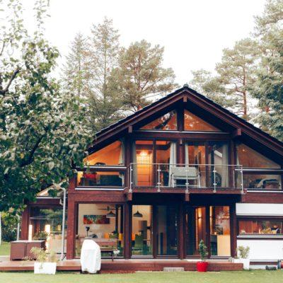 concentus modernes fachwerkhaus Das moderne Landhaus in Perfektion mit traditioneller brauner Konstruktion